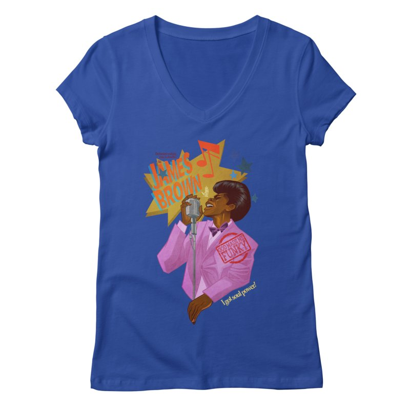 Soul Power Women's V-Neck by Dedos tees