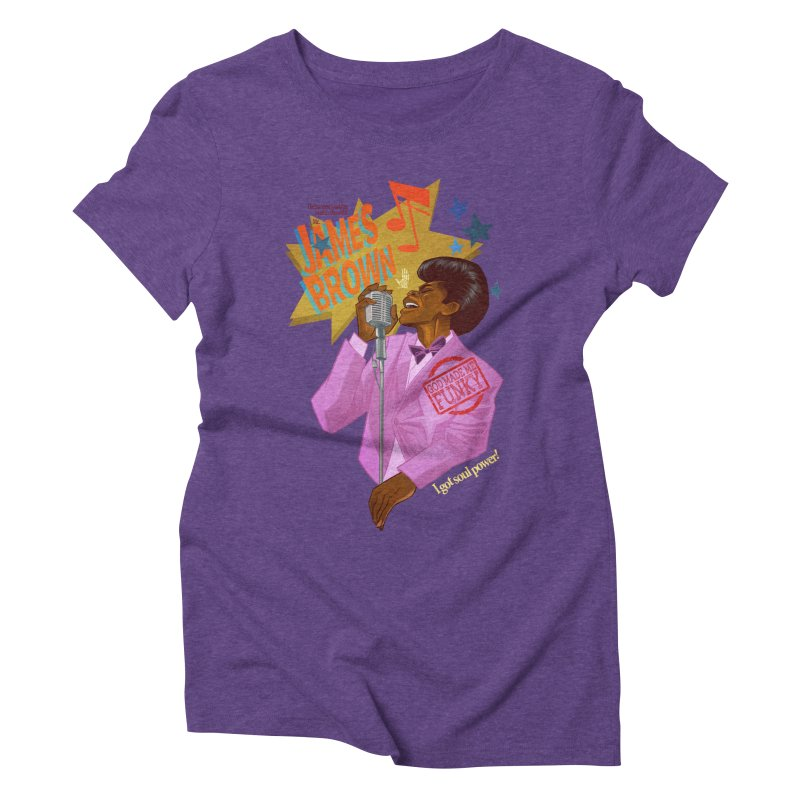 Soul Power Women's Triblend T-shirt by Dedos tees