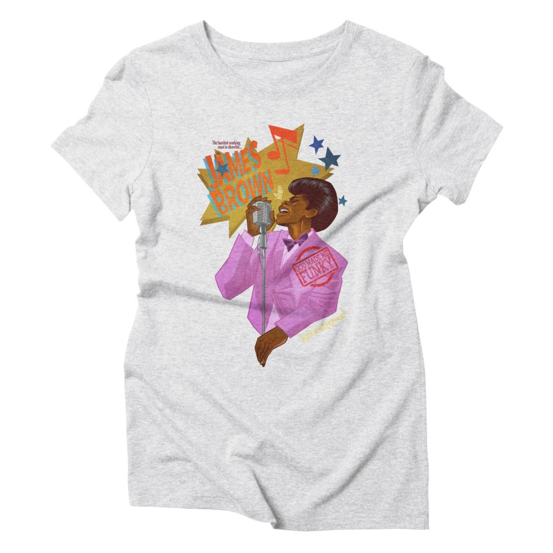 Soul Power Women's T-Shirt by Dedos tees