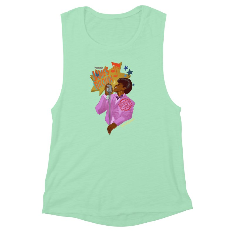 Soul Power Women's Muscle Tank by Dedos tees