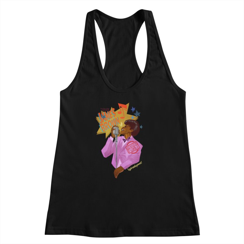 Soul Power Women's Racerback Tank by Dedos tees