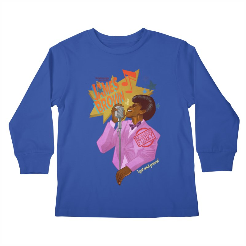 Soul Power Kids Longsleeve T-Shirt by Dedos tees