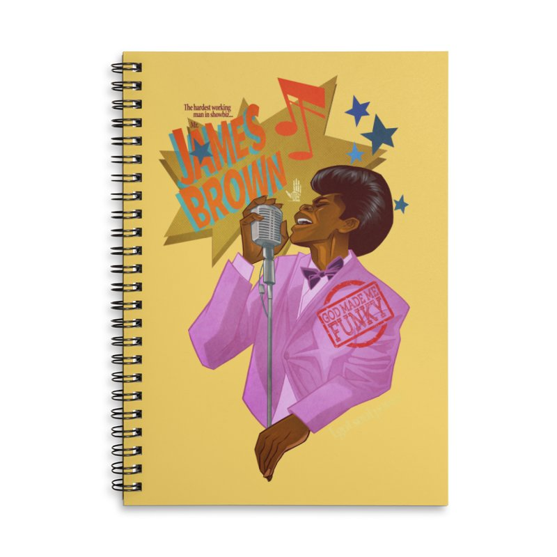 Soul Power Accessories Lined Spiral Notebook by Dedos tees