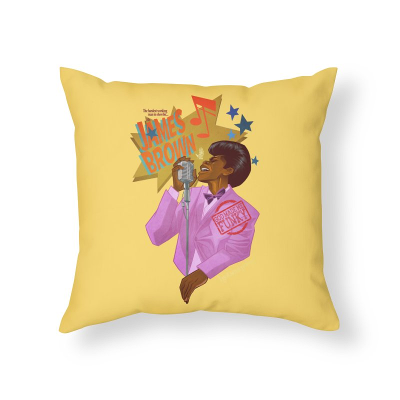 Soul Power Home Throw Pillow by Dedos tees