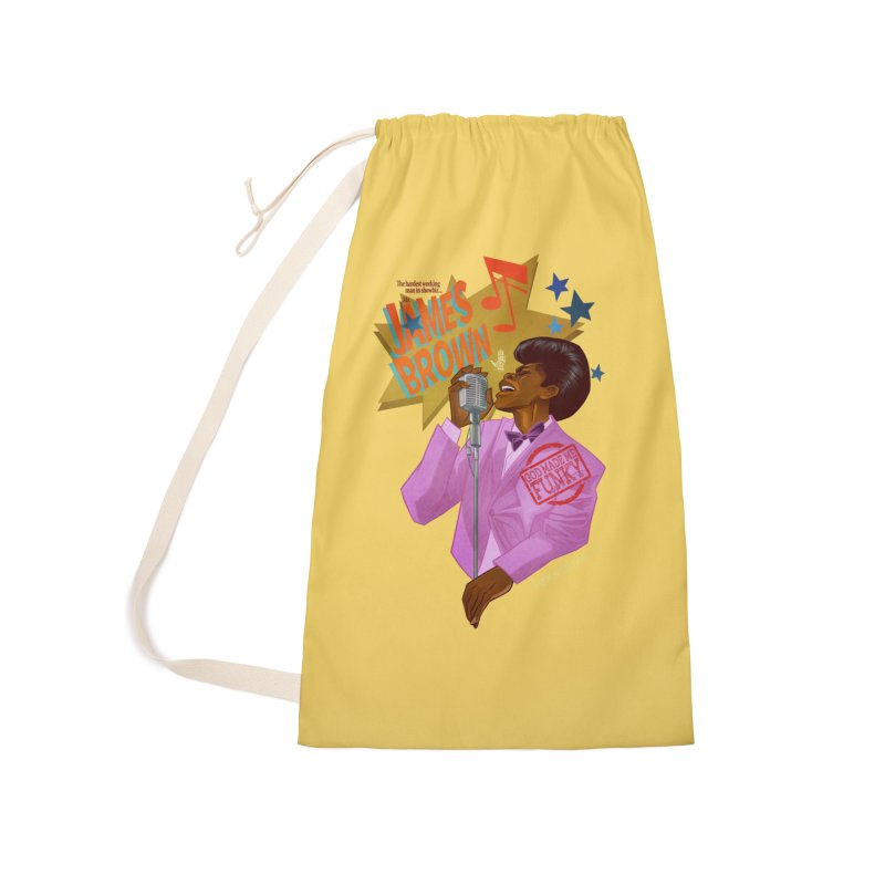 Soul Power Accessories Laundry Bag Bag by Dedos tees