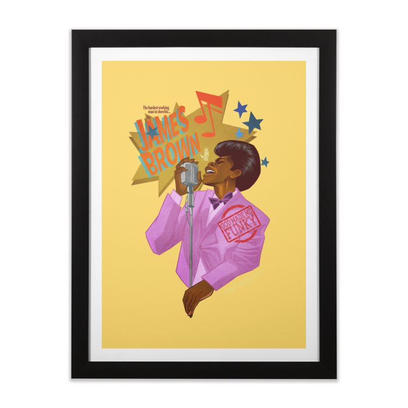 Soul Power Home Framed Fine Art Print by Dedos tees