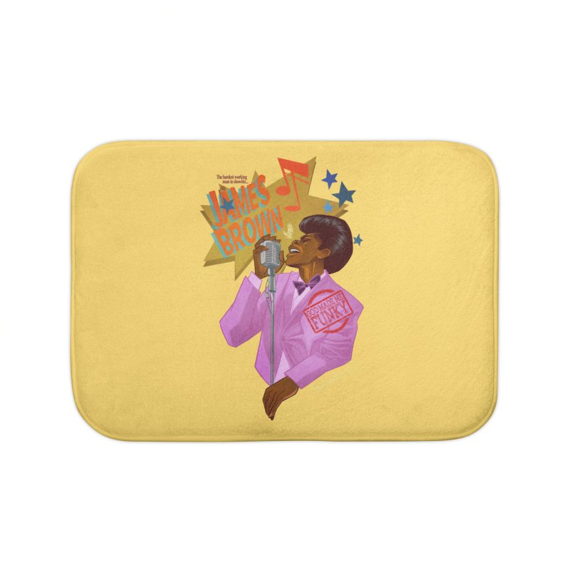 Soul Power Home Bath Mat by Dedos tees