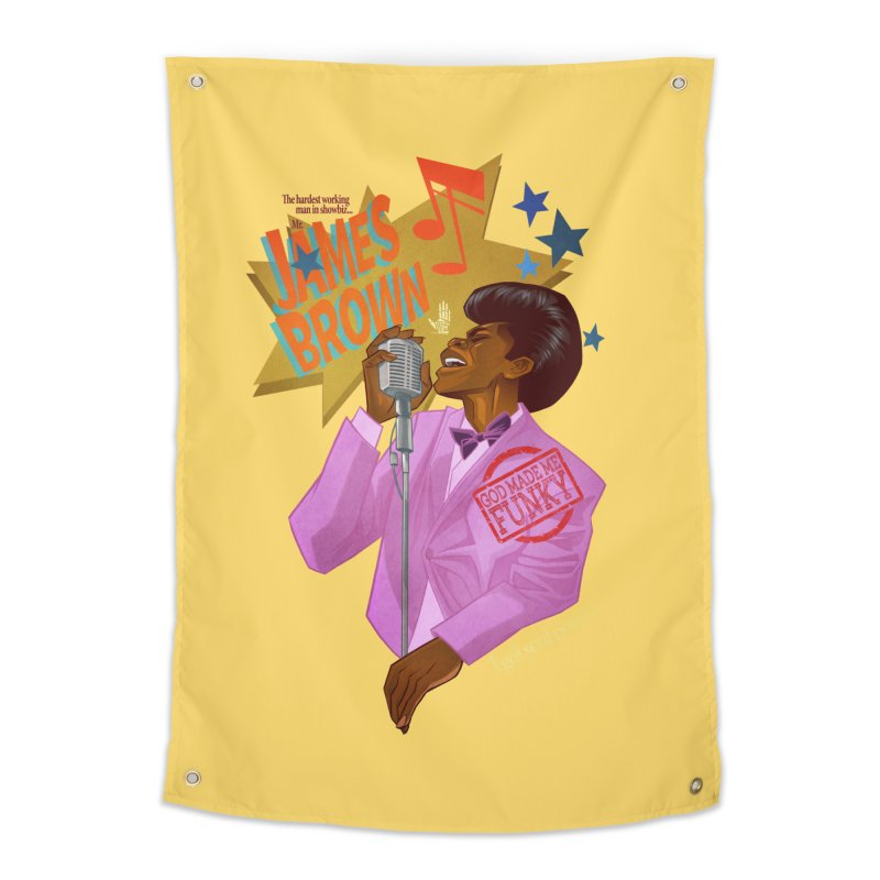 Soul Power Home Tapestry by Dedos tees