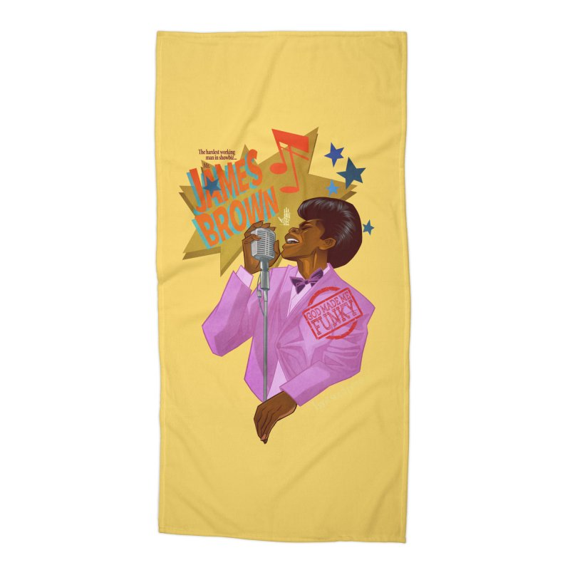 Soul Power Accessories Beach Towel by Dedos tees