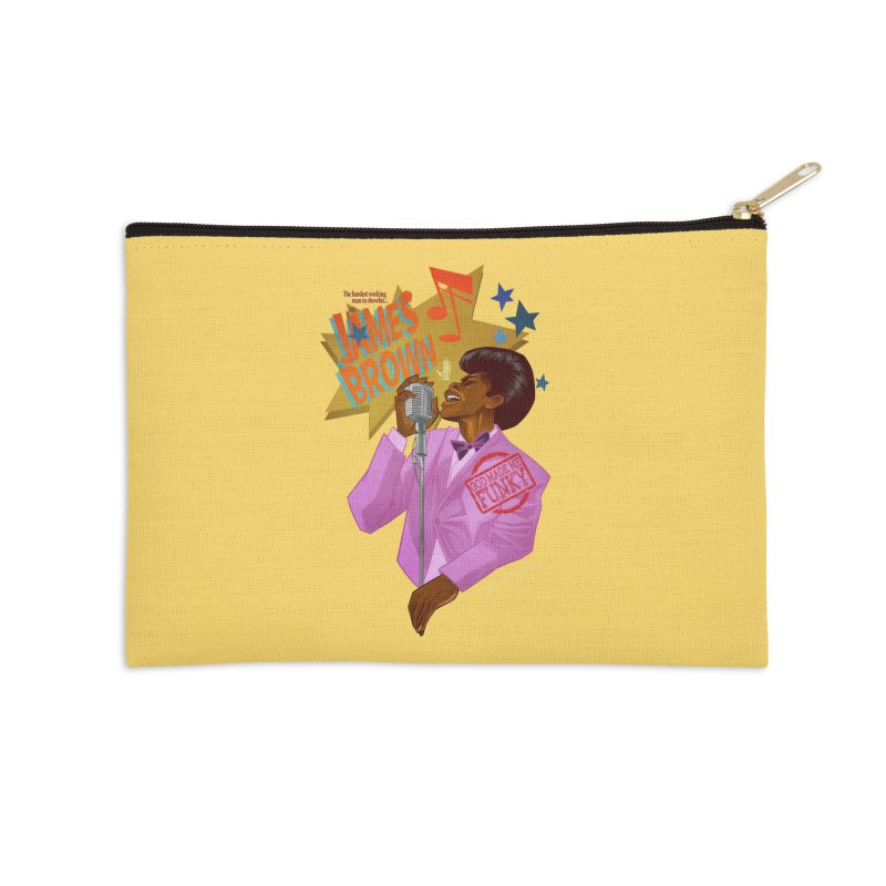 Soul Power Accessories Zip Pouch by Dedos tees