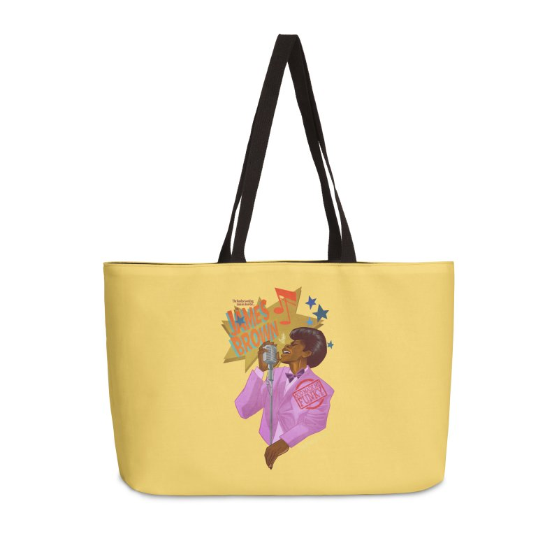 Soul Power Accessories Weekender Bag Bag by Dedos tees