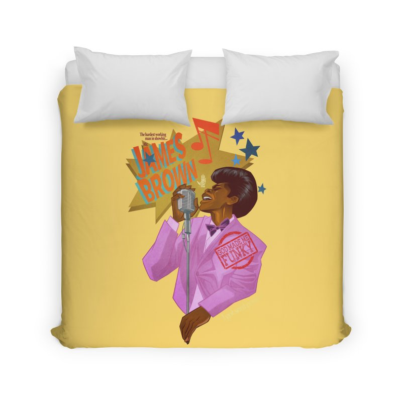Soul Power Home Duvet by Dedos tees