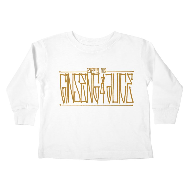 Ginseng and Juice 1 Kids Toddler Longsleeve T-Shirt by Dedos tees
