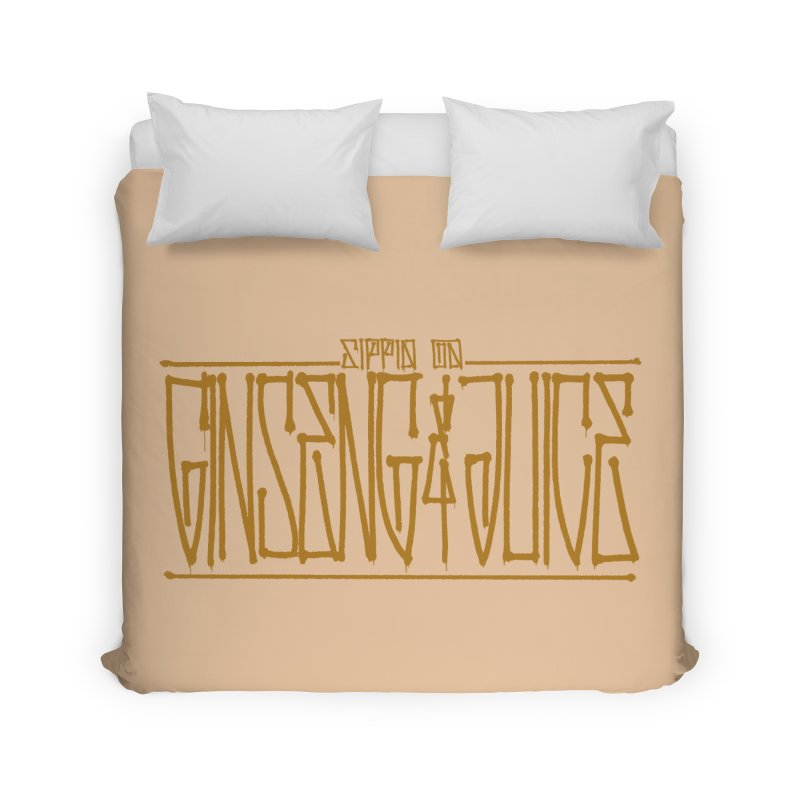 Ginseng and Juice 1 Home Duvet by Dedos tees