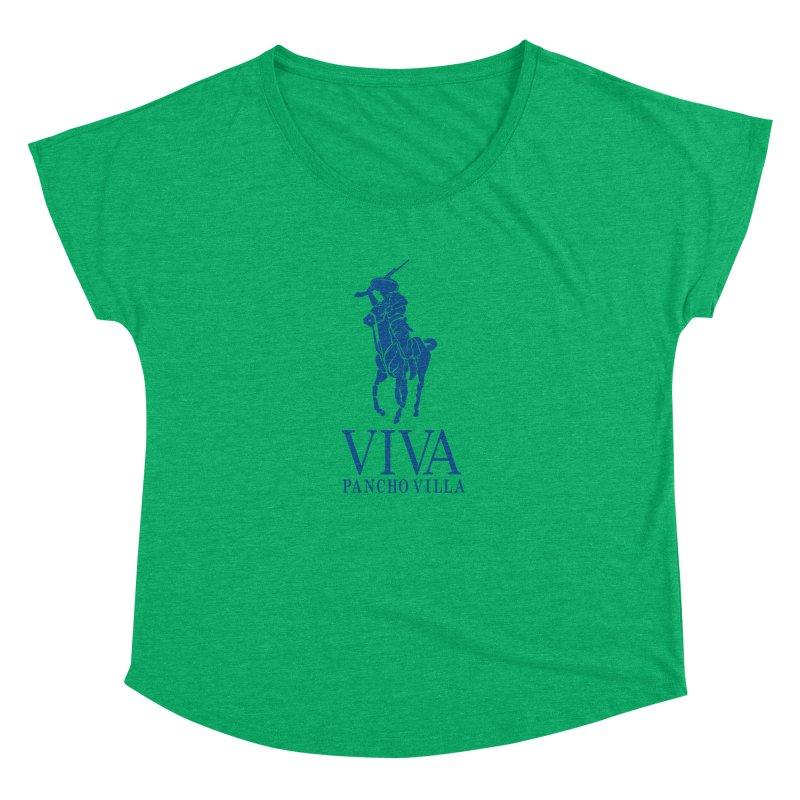 Viva Grande Women's Dolman Scoop Neck by Dedos tees