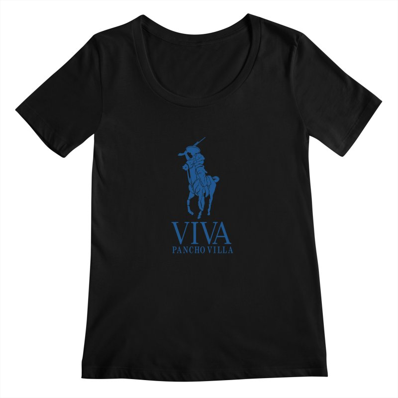 Viva Grande Women's Scoopneck by Dedos tees