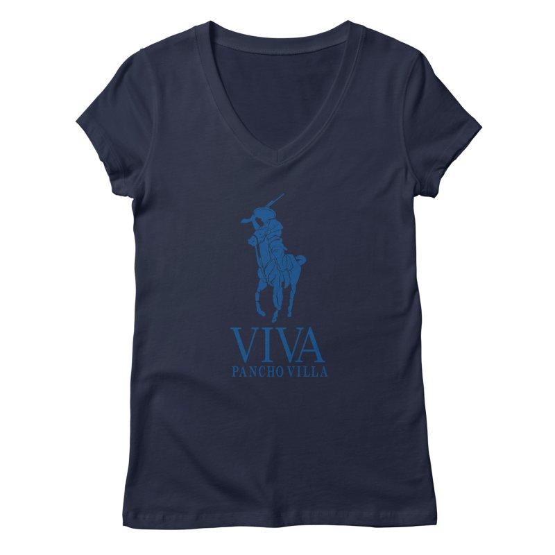 Viva Grande Women's Regular V-Neck by Dedos tees