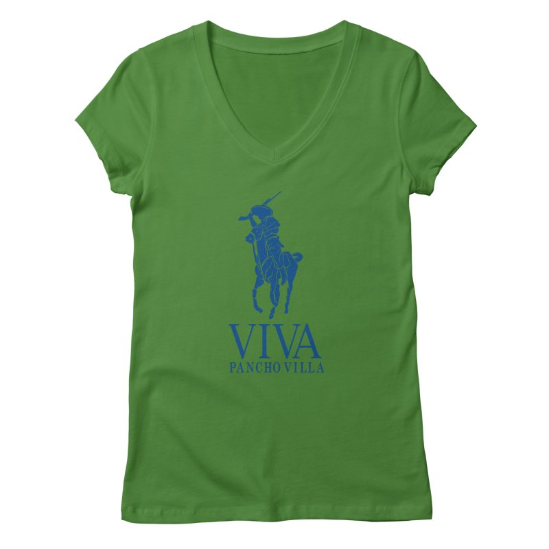 Viva Grande Women's Regular V-Neck by Dedos tees