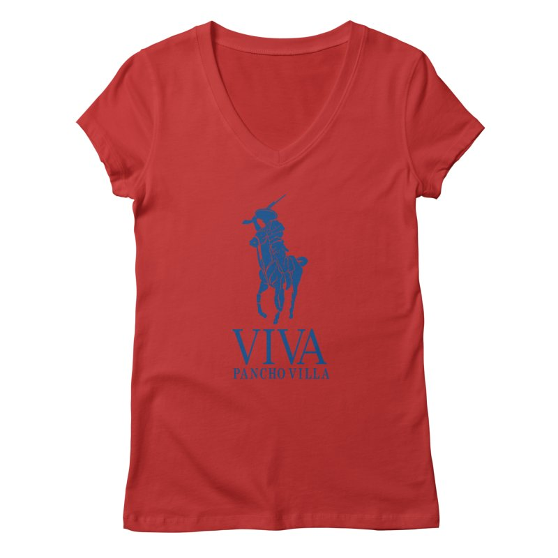 Viva Grande Women's V-Neck by Dedos tees