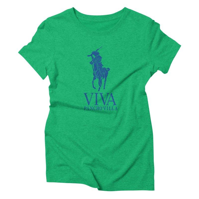 Viva Grande Women's Triblend T-Shirt by Dedos tees