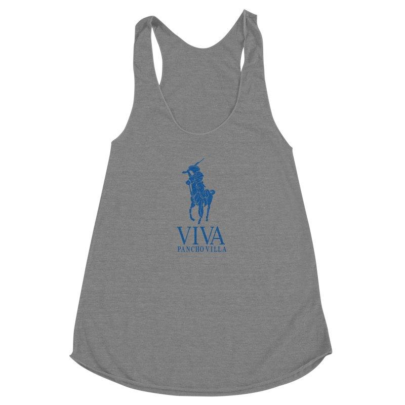 Viva Grande Women's Racerback Triblend Tank by Dedos tees