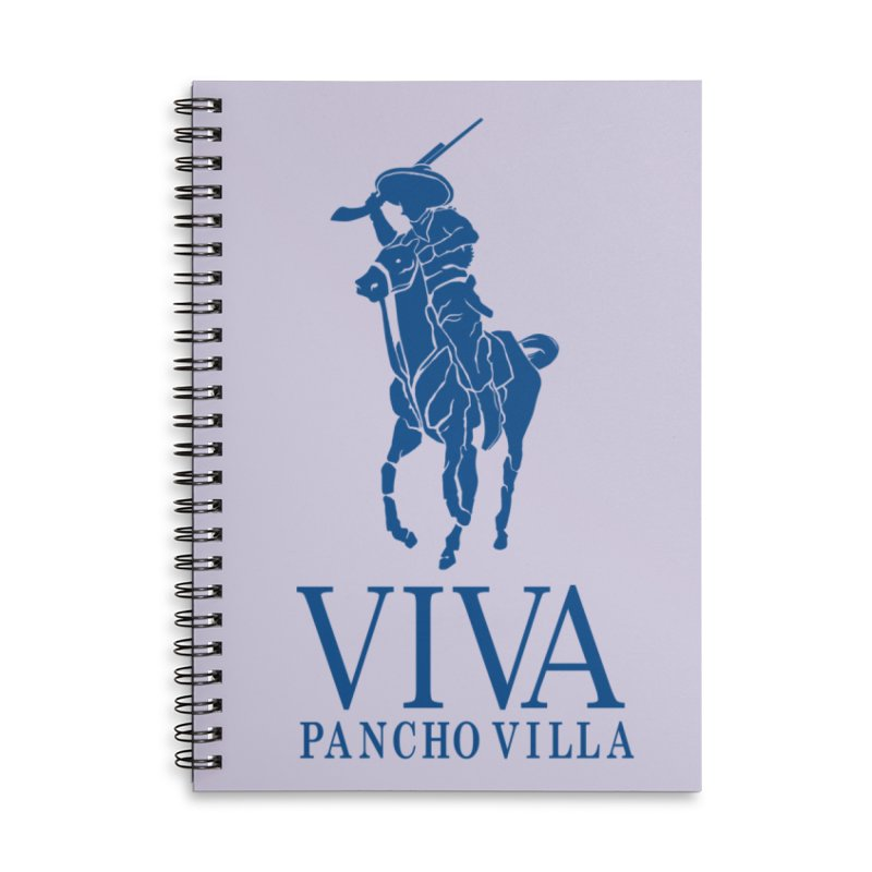 Viva Grande Accessories Lined Spiral Notebook by Dedos tees