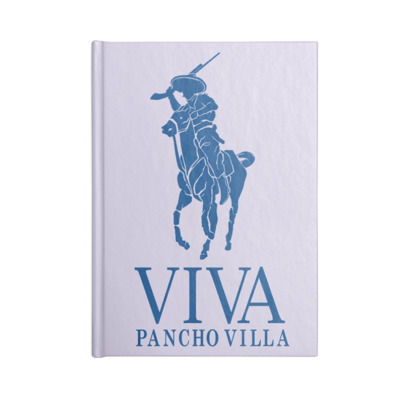 Viva Grande Accessories Lined Journal Notebook by Dedos tees