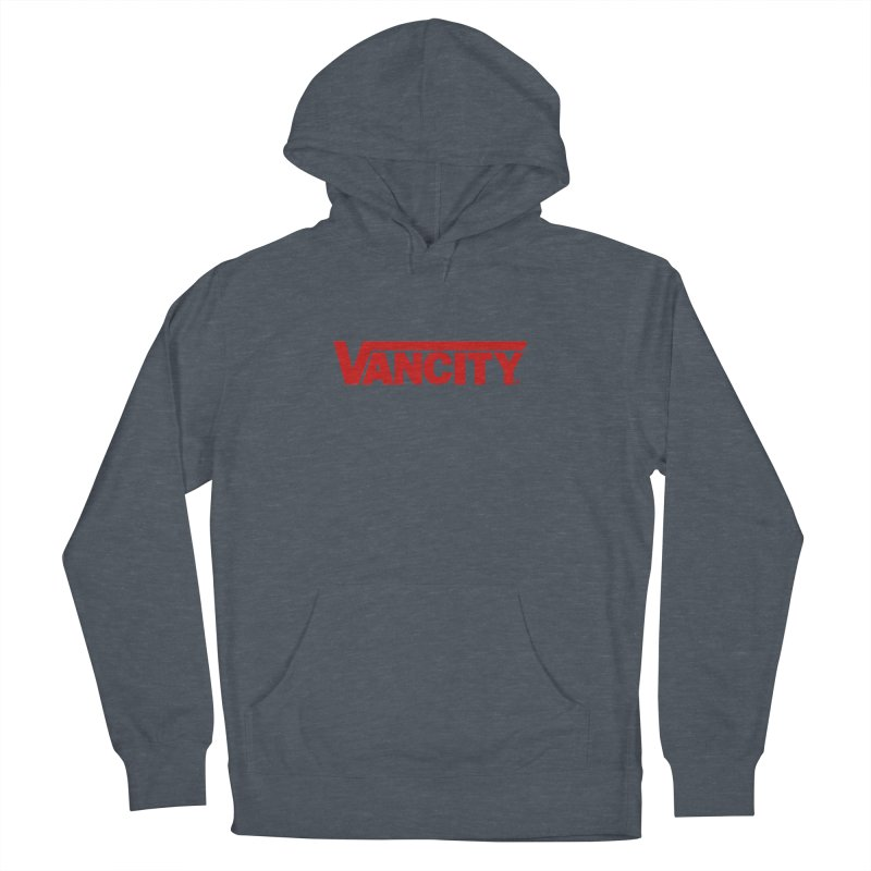 VANCITY Men's French Terry Pullover Hoody by Dedos tees