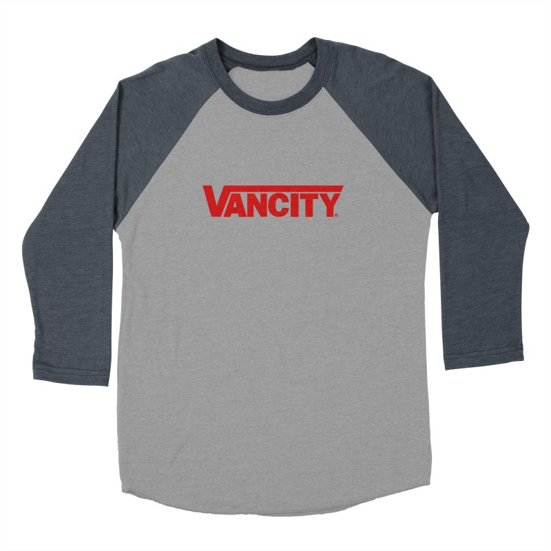 VANCITY Men's Baseball Triblend Longsleeve T-Shirt by Dedos tees