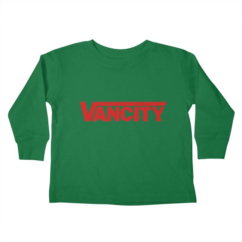 VANCITY Kids Toddler Longsleeve T-Shirt by Dedos tees