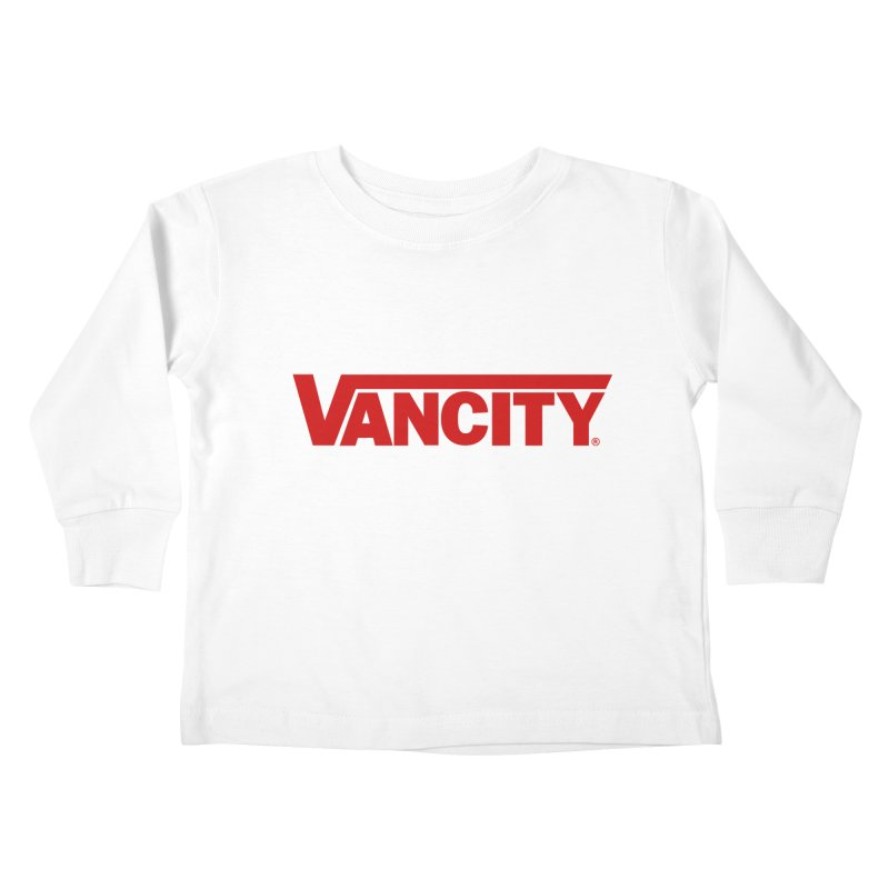 VANCITY Kids Toddler Longsleeve T-Shirt by Dedos tees