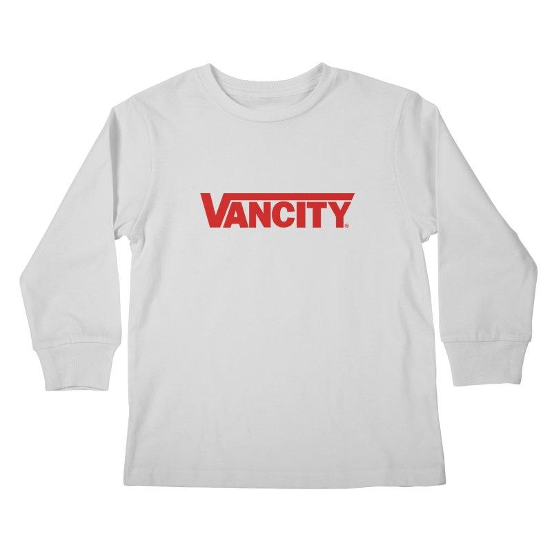 VANCITY Kids Longsleeve T-Shirt by Dedos tees