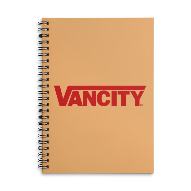 VANCITY Accessories Lined Spiral Notebook by Dedos tees