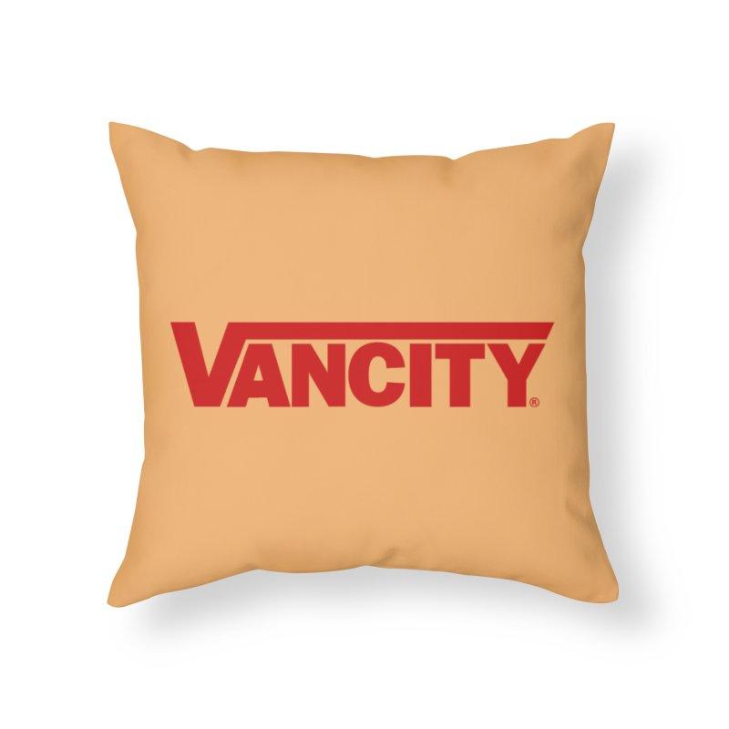 VANCITY Home Throw Pillow by Dedos tees