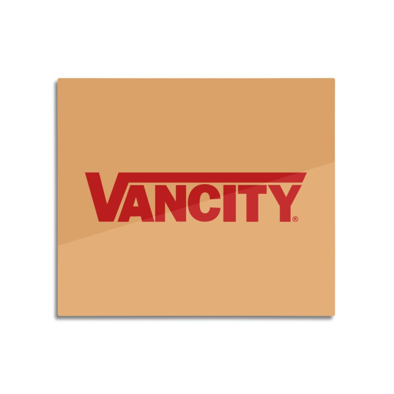 VANCITY Home Mounted Aluminum Print by Dedos tees