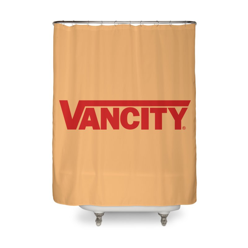 VANCITY Home Shower Curtain by Dedos tees