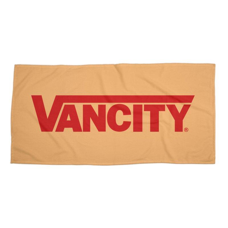 VANCITY Accessories Beach Towel by Dedos tees