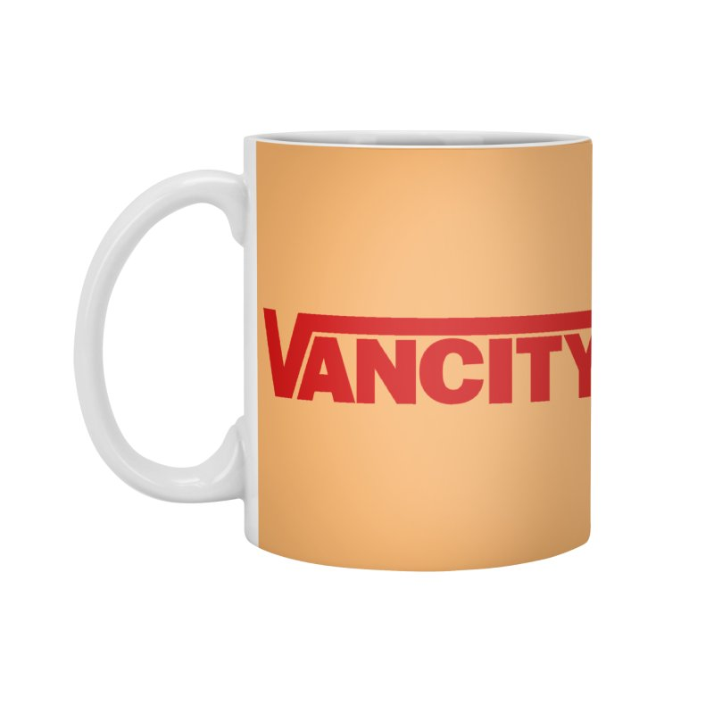 VANCITY Accessories Standard Mug by Dedos tees
