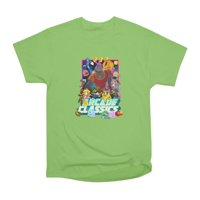 ARCADE CLASSICS 1 Women's Heavyweight Unisex T-Shirt by Dedos tees