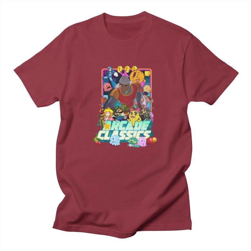 ARCADE CLASSICS 1 Women's Regular Unisex T-Shirt by Dedos tees