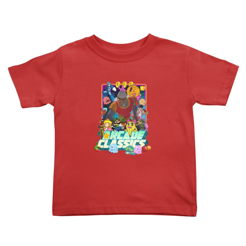 ARCADE CLASSICS 1 Kids Toddler T-Shirt by Dedos tees
