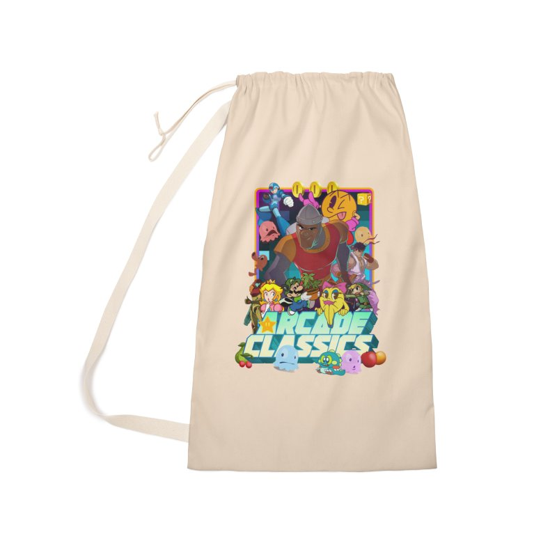 ARCADE CLASSICS 1 Accessories Laundry Bag Bag by Dedos tees