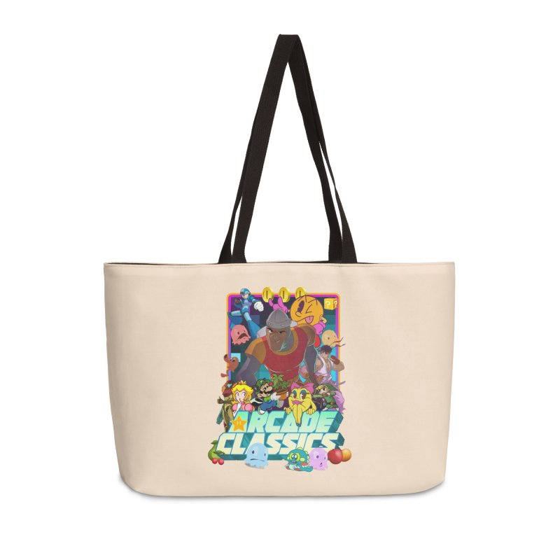 ARCADE CLASSICS 1 Accessories Weekender Bag Bag by Dedos tees