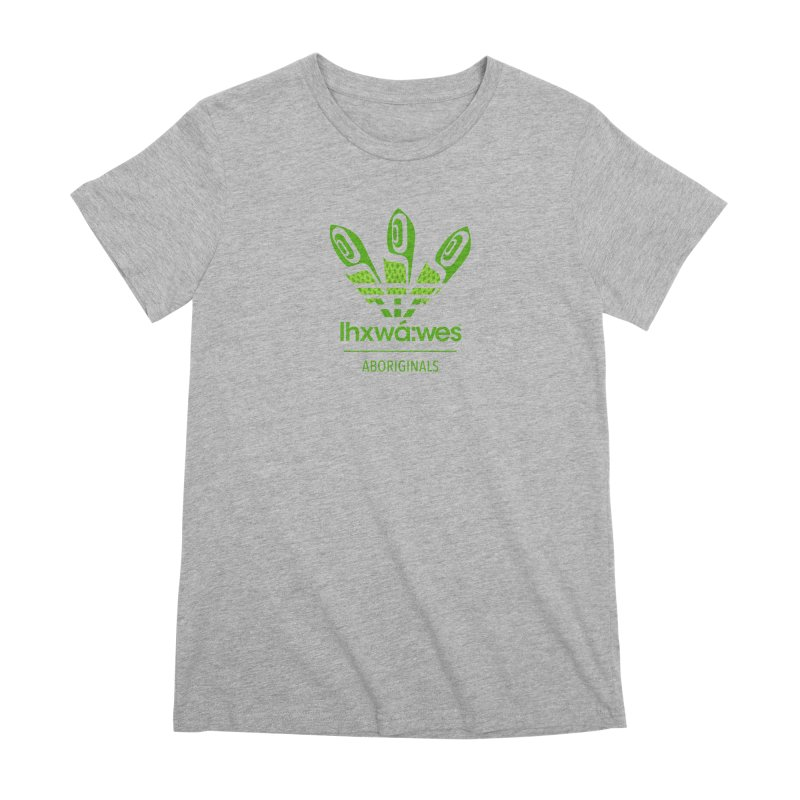 aboriginals green Women's Premium T-Shirt by Dedos tees