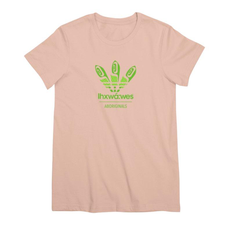 aboriginals green Women's Premium T-Shirt by Dedos tees