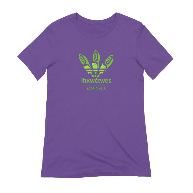 aboriginals green Women's Extra Soft T-Shirt by Dedos tees
