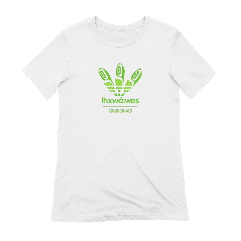 aboriginals green Women's Extra Soft T-Shirt by Dedos tees