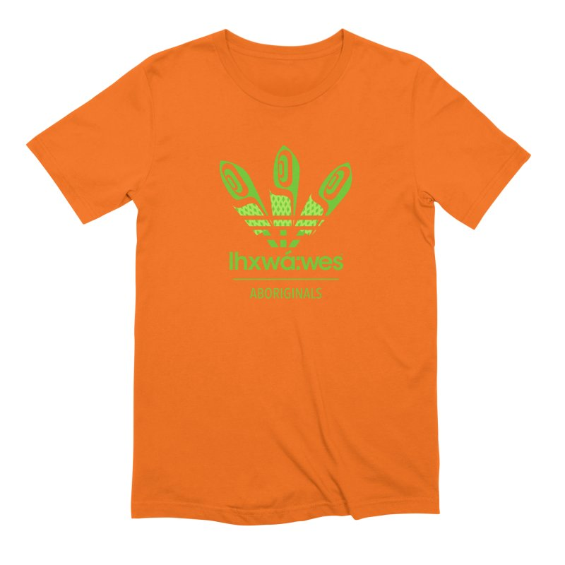 aboriginals green Men's Extra Soft T-Shirt by Dedos tees