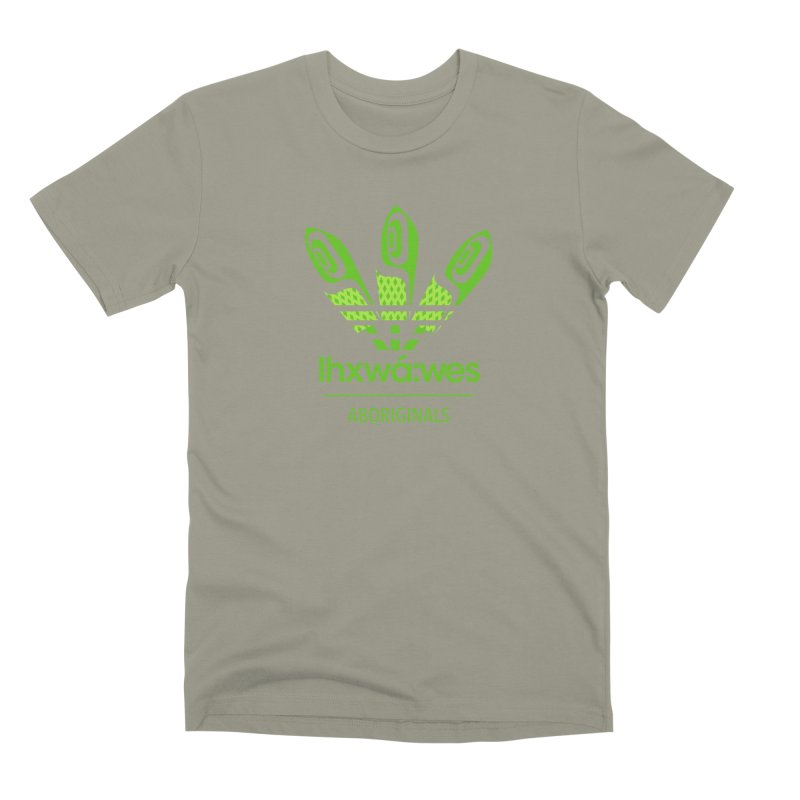 aboriginals green Men's Premium T-Shirt by Dedos tees