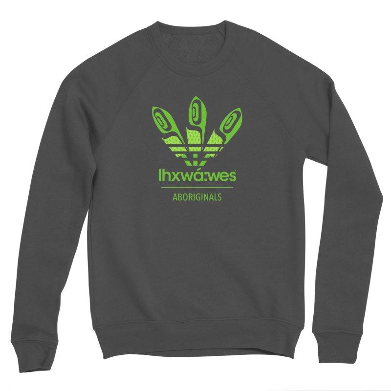aboriginals green Women's Sponge Fleece Sweatshirt by Dedos tees